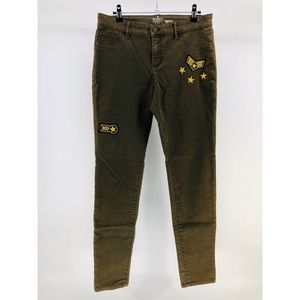 NY&Co Military Patch Legging Jeans